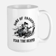 SOA Reaper Gun Large Mug