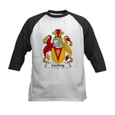 Curling Family Crest  Tee