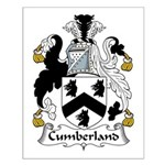 Cumberland Family Crest  Small Poster