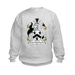 Cumberland Family Crest  Kids Sweatshirt