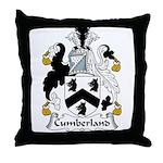 Cumberland Family Crest  Throw Pillow