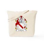 Culpeper Family Crest  Tote Bag