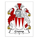 Crump Family Crest Small Poster