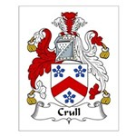 Crull Family Crest Small Poster