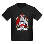 Crull Family Crest Kids Dark T-Shirt