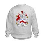 Crull Family Crest Kids Sweatshirt