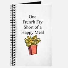 Happy Meal Journal