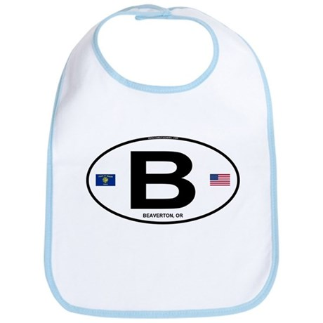 B Euro Oval - Beaverton, OR Bib