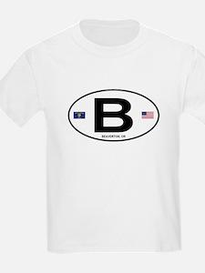 B Euro Oval - Beaverton, OR T-Shirt