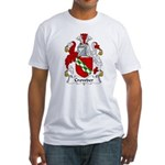 Crowder Family Crest  Fitted T-Shirt