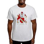 Crowder Family Crest  Light T-Shirt