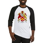 Crow Family Crest  Baseball Jersey