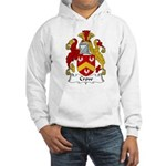 Crow Family Crest Hooded Sweatshirt