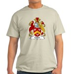 Crow Family Crest  Light T-Shirt