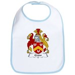 Crow Family Crest  Bib