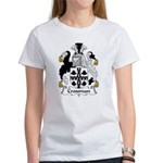 Crossman Family Crest Women's T-Shirt