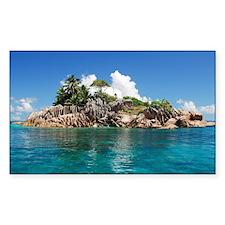 Tropical Island Decal