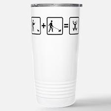 Westie Stainless Steel Travel Mug