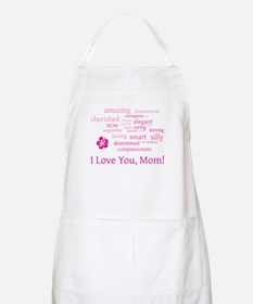 I love you, Mom! Apron