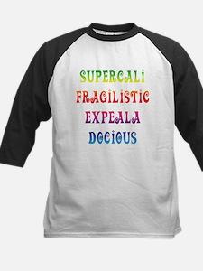 Supercalifragilisticexpealadocious Kids Baseball J