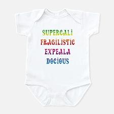 Supercalifragilisticexpealadocious Infant Bodysuit