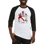 Crook Family Crest Baseball Jersey