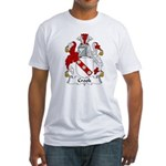Crook Family Crest Fitted T-Shirt
