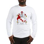 Crook Family Crest Long Sleeve T-Shirt