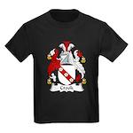 Crook Family Crest Kids Dark T-Shirt