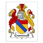 Cromwell Family Crest  Small Poster