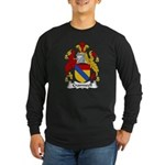 Cromwell Family Crest Long Sleeve Dark T-Shirt