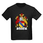 Cromwell Family Crest  Kids Dark T-Shirt