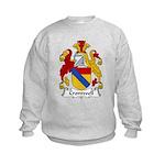 Cromwell Family Crest  Kids Sweatshirt