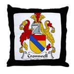 Cromwell Family Crest  Throw Pillow