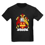 Crompton Family Crest Kids Dark T-Shirt