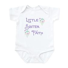 Little Sister Faith Infant Bodysuit