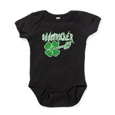 Cute Shamrock Baby Bodysuit