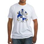 Croft Family Crest Fitted T-Shirt