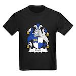 Croft Family Crest Kids Dark T-Shirt