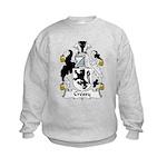 Cressy Family Crest  Kids Sweatshirt