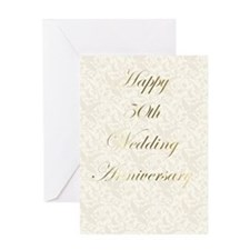 50th Wedding Annivesary Greeting Card