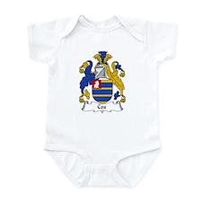 Cox Family Crest Infant Bodysuit