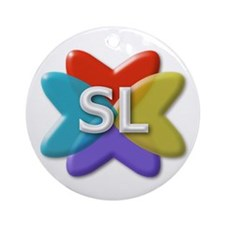 SL Logo Ornament (Round)