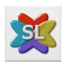 SL Logo Tile Coaster