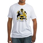 Coward Family Crest Fitted T-Shirt