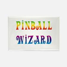 Cute Pinball Rectangle Magnet