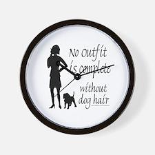 DOG HAIR Wall Clock