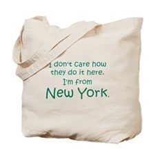 From New York Tote Bag
