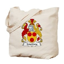 Courtney Family Crest Tote Bag