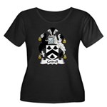 Cottrell Family Crest Women's Plus Size Scoop Neck
